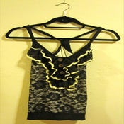 Image of Von Maur Ruffle & Lace Tank Top