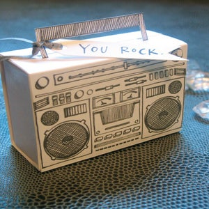 Image of Letterpress Boombox