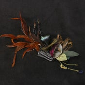 Image of R21 Feather Fascinator