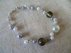 Image of Handmade triple wire bracelet