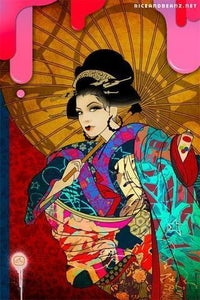 Image of Graffiti Geisha