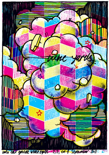 Image of tUnE-yArDs Poster - Into The Great Wide Open 2011