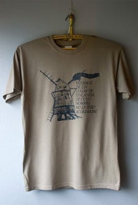 Image of Cats Windmill Man T-shirt brown
