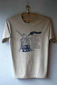 Image of Cats Windmill Man Small T-shirt khaki