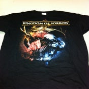 "Image of KINGDOM OF SORROW ""Behing The Blackest Tears"" Shirt"
