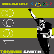 Image of Tommie Smith - Mexico '68 Poster