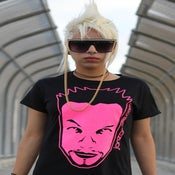 Image of Girl's Hot Pink Tee