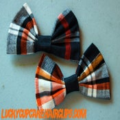 Image of Fall Flannel Bow