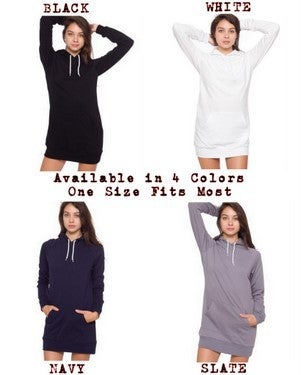 Image of MIR801 THE IMPERIAL OWL Women's Pullover Hoodie Dress