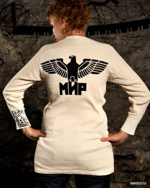 Image of MIR748 THE EAGLE HAS LANDED Military Thermal Long Sleeve Shirt