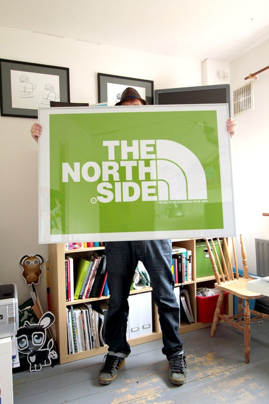Image of NORTHSIDE HUGE A0 PRINT IN 4 COLOURS