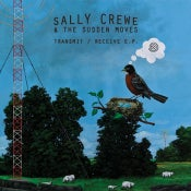 Image of Sally Crewe & The Sudden Moves - Transmit / Receive CD EP  (8-Track Mind)