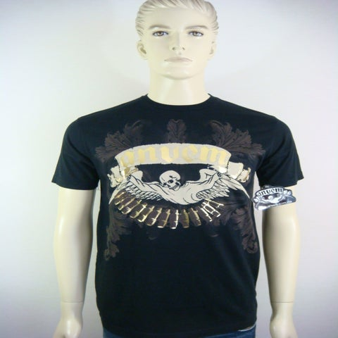 "Image of ANVEM clothing brand ""M 60"" men black t - shirt"