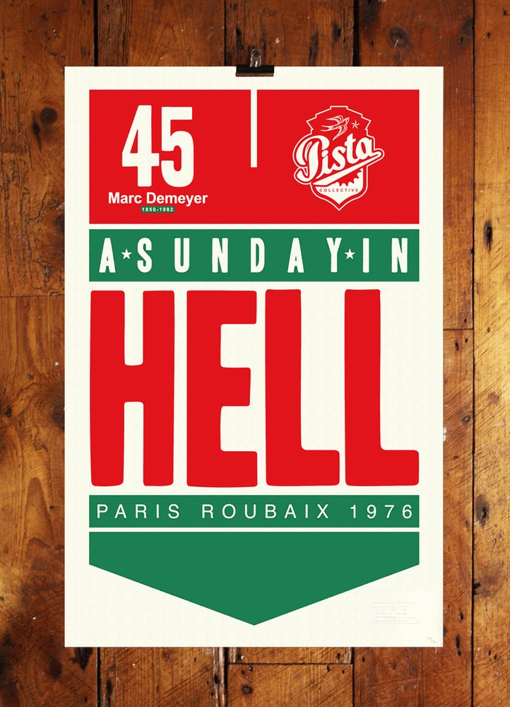 Image of SUNDAY IN HELL LTD EDITION PRINT