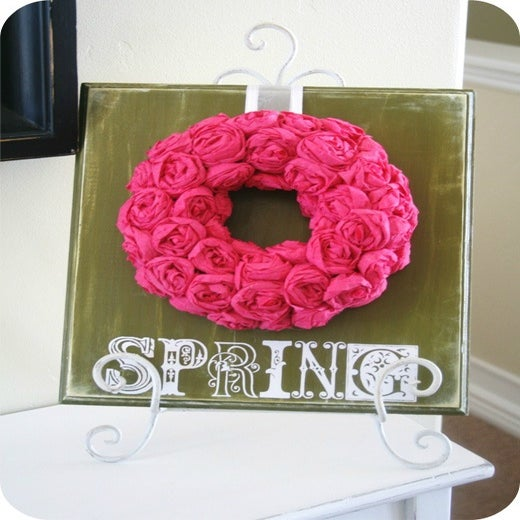 Image of SPRING Decal (ornate)