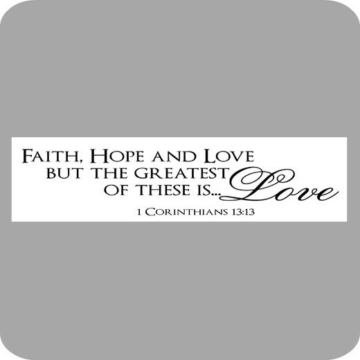 Image of Faith, Hope and Love...