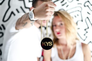 Image of KYS BIG LOGO BLACK/GOLD