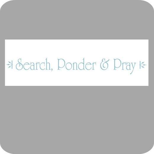 Image of Search, Ponder & Pray