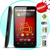 Image of Aurous - Dual SIM Android 2.2 Smartphone with 4.3 Inch HD Capacitive Touchscreen