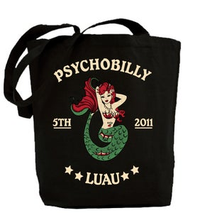 Image of Psychobilly Luau Tote