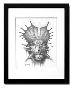 "Image of Original Graphite Study for ""13"""