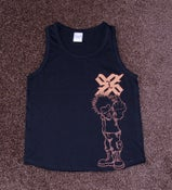 Image of Pissed On Pissed Off - Middle Finger Ladies Vest Top