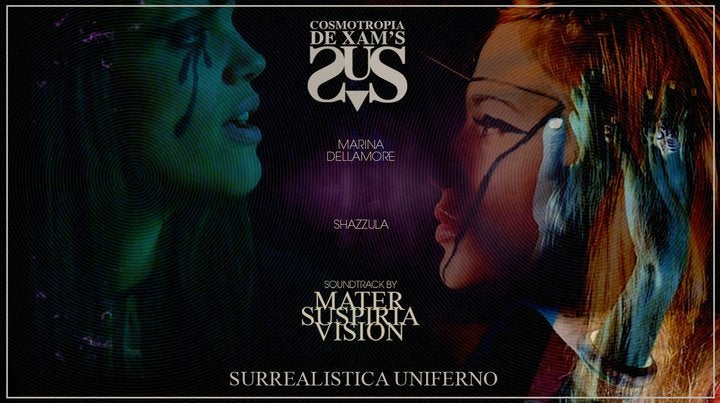 Image of PD-DVDR-000 COSMOTROPIA DE XAM'S Surrealistica Uniferno