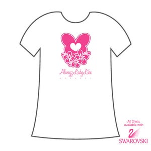 Image of Alwayz Lady Like Fitted-T