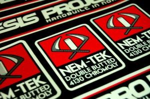 Image of Nemesis Project Nem-Tek printed decal set