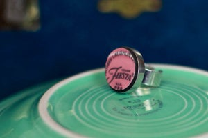 Image of Fiesta Pink Ring