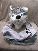 Image of Long Husky Hat w/Mittens