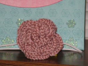 Image of Crocheted Rose