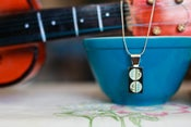 Image of Mini Mosaic-Atomic Necklace