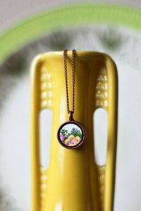 Image of Flower Yellow Necklace