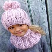 "Image of Bonnet ""Sacha"", alpaga & laine"
