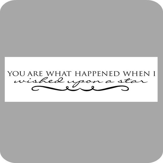 Image of You are what happened...