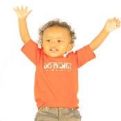Image of DO WORK. Toddlers Tee (Red)