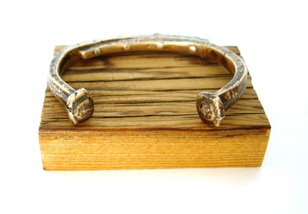 Image of Bronze Nail Cuff