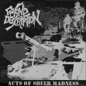 "Image of BEYOND DESCRIPTION ""Acts Of Sheer Madness"" LP"