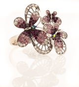 Image of Flutter by, oh Butterfly - Swavorski crystal hinge bracelet