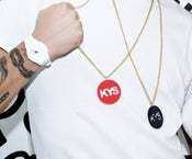 Image of KYS BLACK NECKLACE