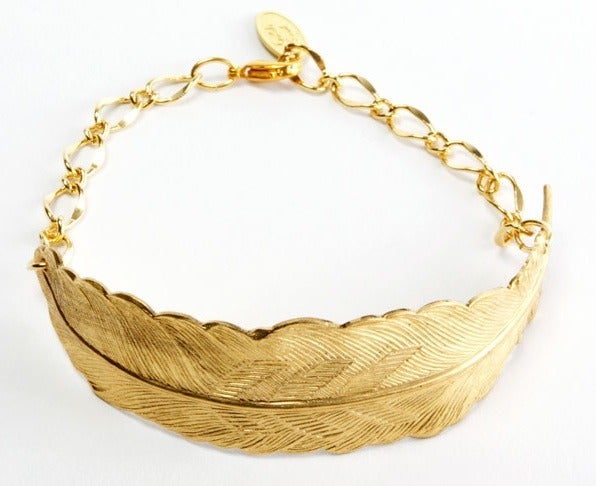 Image of Large feather bracelet