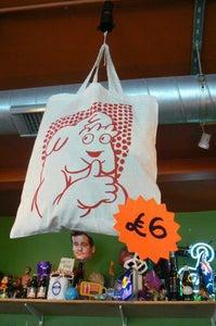 Image of Flesh & Bone tote bag