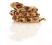 Image of Hypnotize! Cleopatra's Viper Swarovski Jewel encrusted  Coil bracelet
