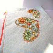 Image of Pretty Zipper Pouch {2 hearts}