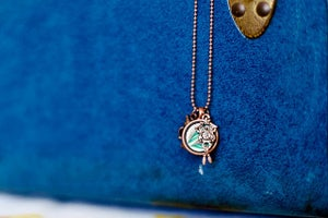 Image of Owl Time Necklace