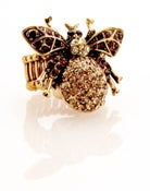 Image of Return of the Fly!   Swarovski crystal ring