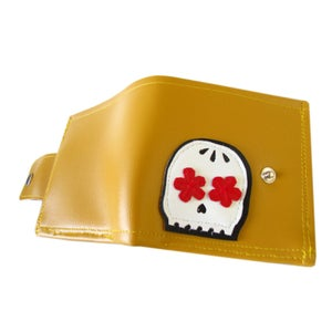 Image of Muerto ) Bifold Wallet w/ Snap Plus Zipper
