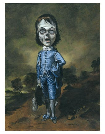 Image of Blue Boy Rising