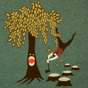 Image of Lumberjack vs Tree T-shirt